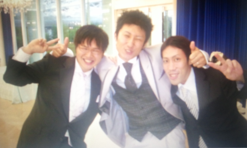 結婚式でのスナップ写真